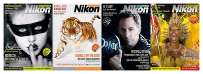 Nikon Owner Magazine Covers