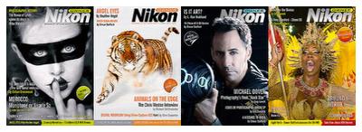 Nikon Owner Magazine Covers