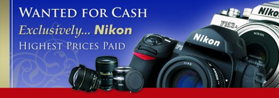 Second hand Nikon equipment wanted