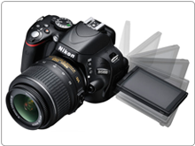 Nikon D5100 with Flip Screen