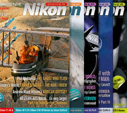 Nikon Owner magzine covers