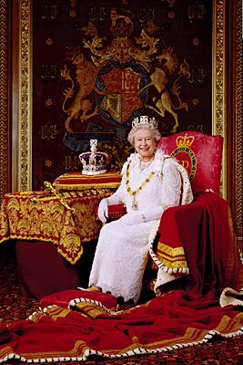 HM The Queen by Julian Calder