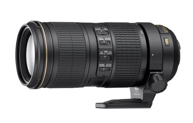 Nikkor AF-S 70-200mm f/4G ED VR III lens