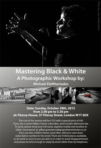 Mastering Black and White Photography Workshop