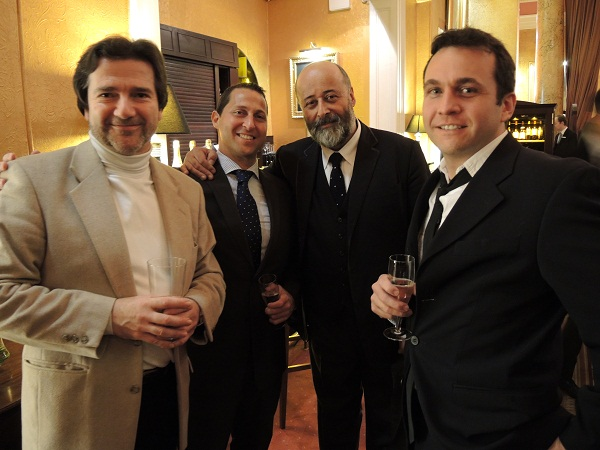 Andrew Main Wilson, Uri Zakay, Richard Young & Stephen Willis