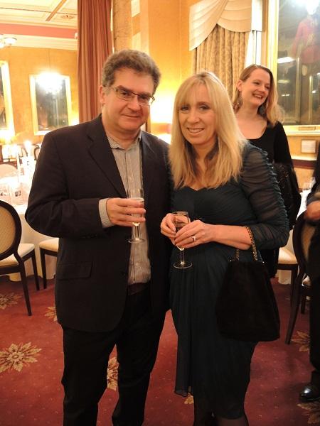 Michael Eleftheriades & Debbie Hughes
