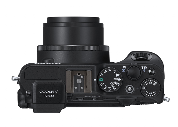 The COOLPIX P7800 will be available in black
