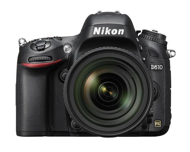 The new Nikon D610