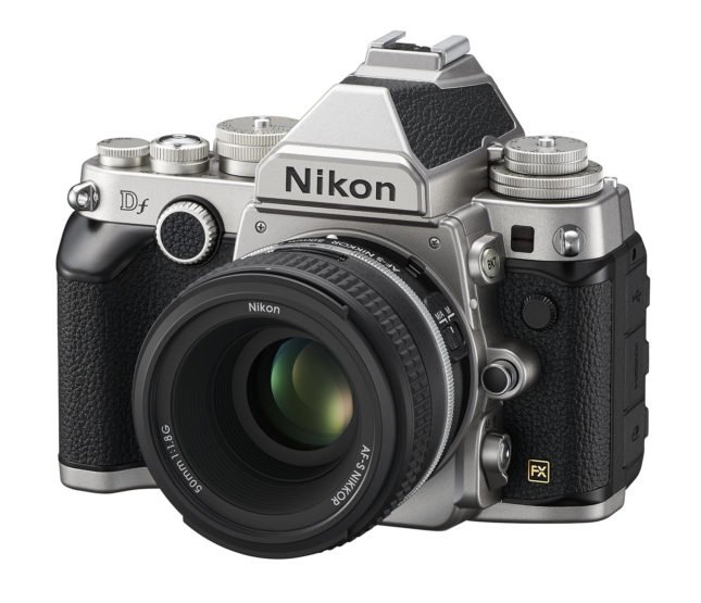 The Nikon Df - front view