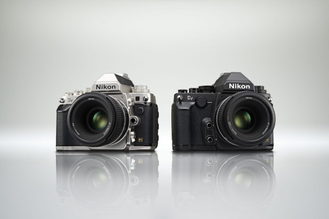 The Nikon Df - available in black or silver