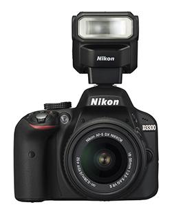 Nikon-D3300-with-Speedlight-SB300