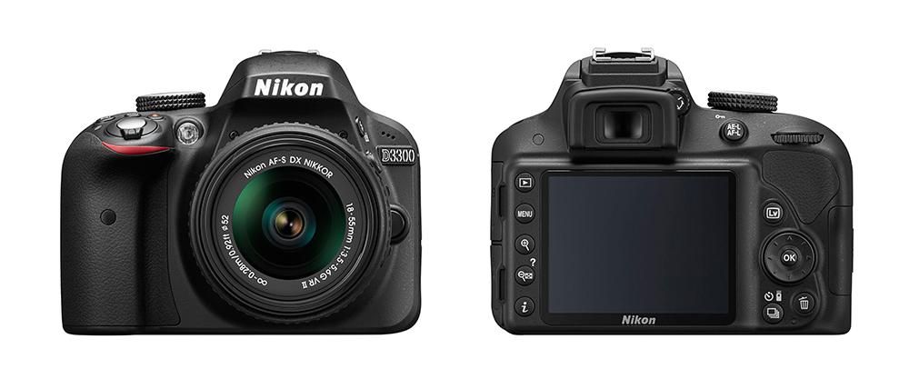 Nikon-DSLR-D3300-front-back