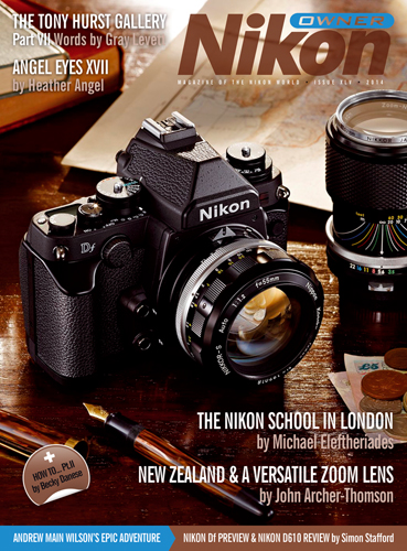 Nikon Owner cover - issue XLV