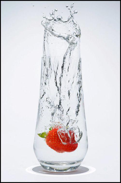 strawberry-drop