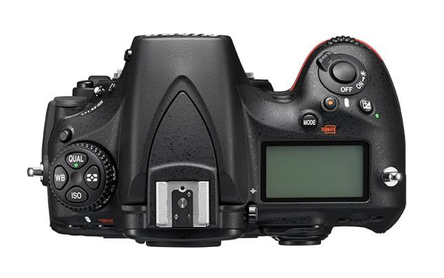 Nikon-D810-top