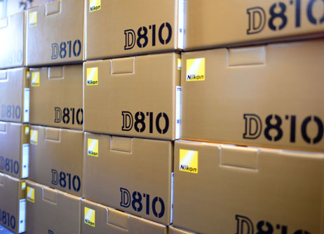 The D810 bodies have arrived at Grays of Westminster!