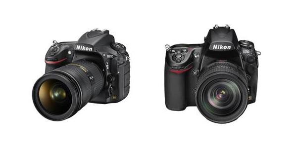 Nikon D810 and D750