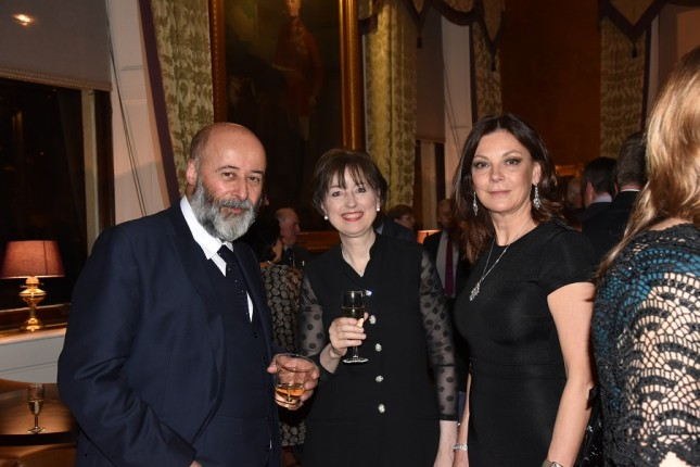 Grays of Westminster Christmas Dinner: Richard Young, Elizabeth Ostermann, Susan Young
