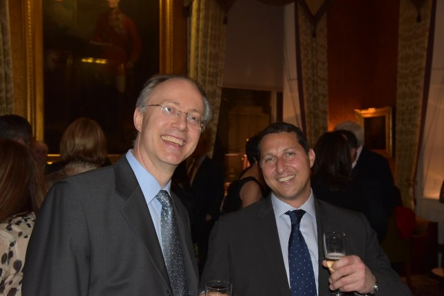 Grays of Westminster Christmas Dinner: Tom Hardy, Uri Zakay