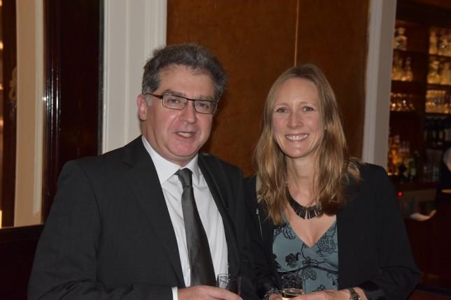 Grays of Westminster Christmas Dinner: Mike Eleftheriades, Helen Atkinson