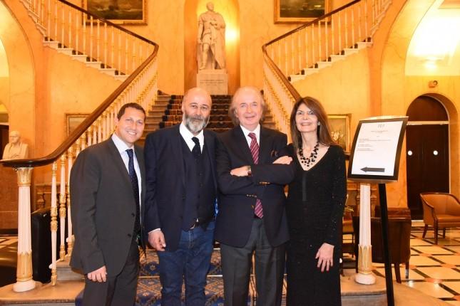 Grays of Westminster Christmas Dinner: Uri Zakay, Richard Young, Gray Levett, Gillian Greenwood