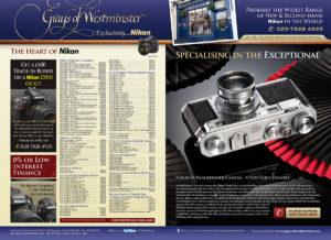 Nikon M Rangefinder Camera Advert