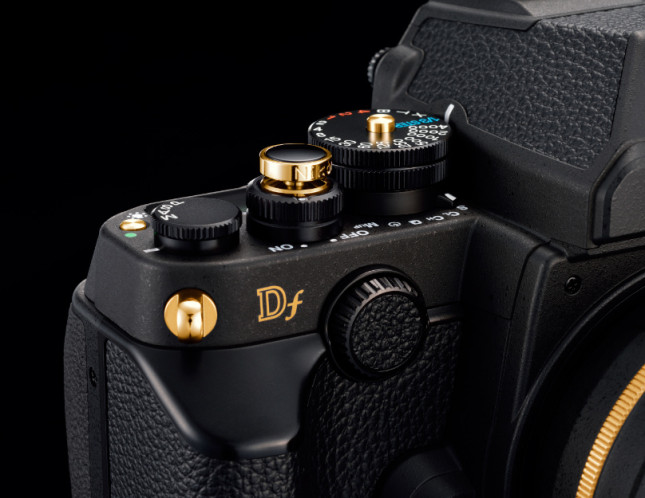 Nikon Df Gold Edition Details
