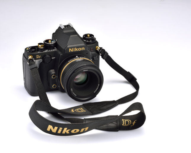 Nikon Df Gold Edition with strap