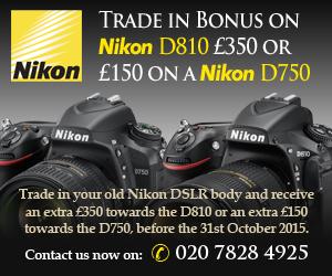Nikon D750 or D810