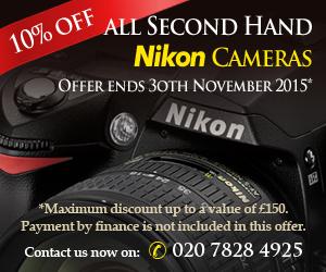 Second hand nikon cameras