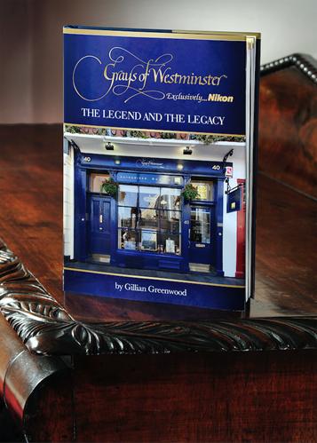 ジリアン・グリーンウッド著『Grays of Westminster…Exclusively Nikon: The Legend and The Legacy』