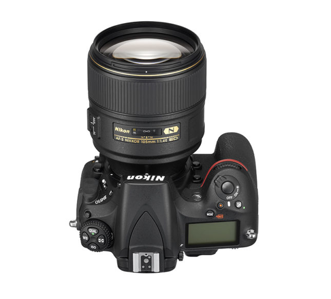 AF-S NIKKOR 105mm f/1.4E ED on the Nikon D810